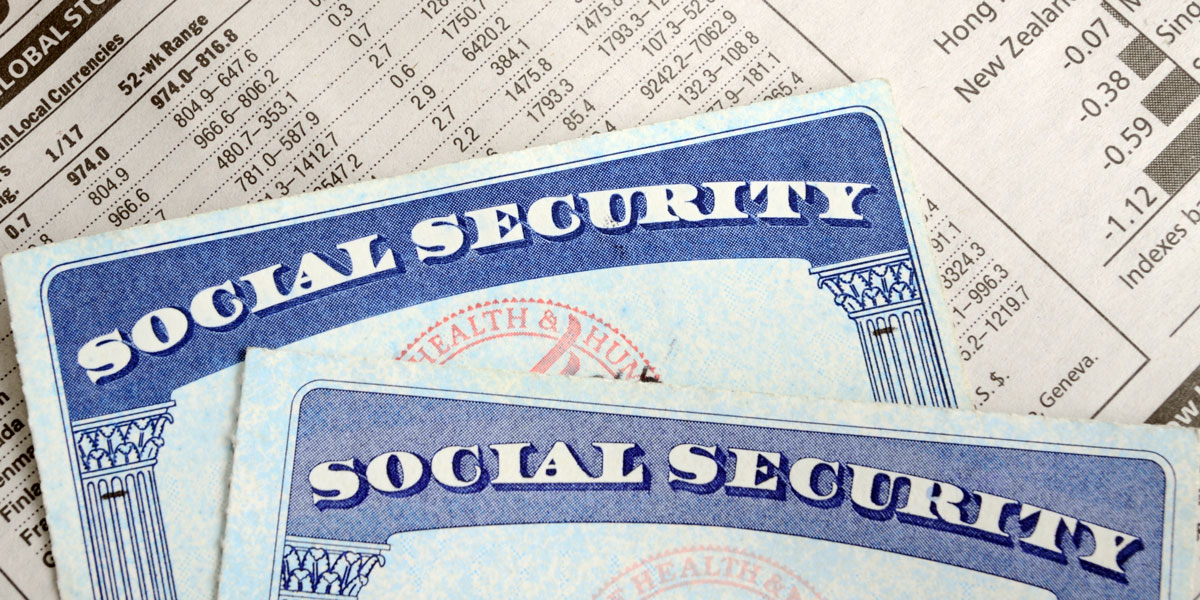 Social Security Page Image